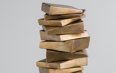 Consolation Series Bronze (detail view), 2014. Bronze, 15 x 6 x 6 inches. Private collection.